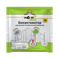 Биоактиватор для дачных туалетов, септиков, выгребных ям Nadzor Garden 30 гр.