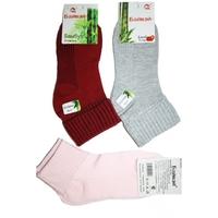 Носки женские с отворотом 8015