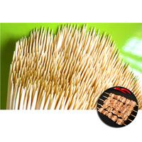 Шпажки-шампуры бамбуковые 200 мм, 100 шт