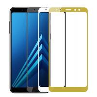 Защитное 5D стекло для Samsung Galaxy A8 Plus (2018г)