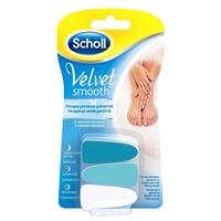 Сменные насадки SCHOLL (Шолль) Velvet Smooth
