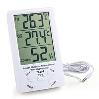 Цифровой термометр + гигрометр МТ-298 оптом