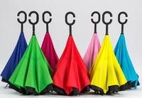 "Зонт наоборот Up-brella ""Чудо-зонт"" с кнопкой"