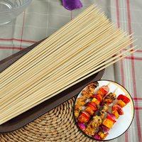 Шпажки-шампуры бамбуковые 300 мм, 100 шт