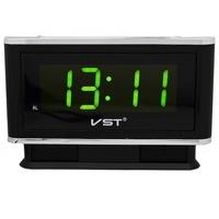 Часы настольные VST 721-2 ярко зеленые цифры